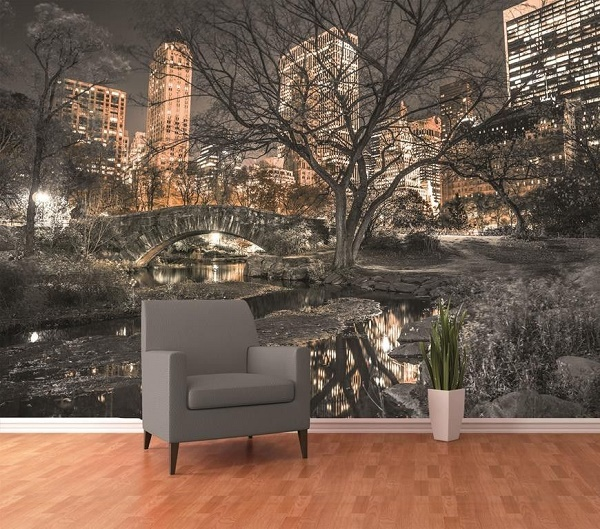 High Quality Central Park New York Wall Mural Wallpaper . Part 10